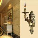 Antik Wandleuchte Kerzen Design 1 flammig