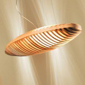 Pendelleuchte Modern Stilvoll aus Holz Brot Design im Esszimmer, Kaffeehaus-Originell Design