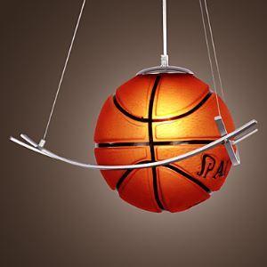 (EU Lager)Pendelleuchte Basketball Design Modern im Kinderzimmer