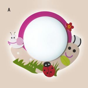 Kinderzimmer Deckenlampe LED Schnecke Design