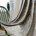 Luxus Stil Vorhang Jacquard Design für Schlafzimmer
