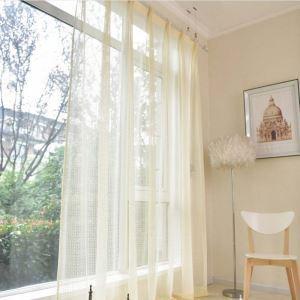 Französische Stil Gardine mit Spitze Blumen für Wohnzimmer