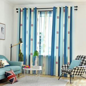 Moderner Vorhang mit Britische Flagge Motiv für Wohnzimmer