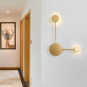 Led Wandleuchte Stilvoll Ring Design für Schlafzimmer
