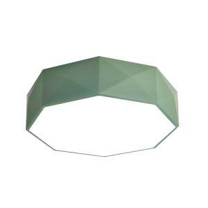 Led Deckenleuchte Modern Achteck Design für Wohnzimmer