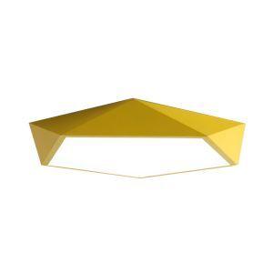 Deckenlampe Led Dünn Diamant Design in Macarons Farbe