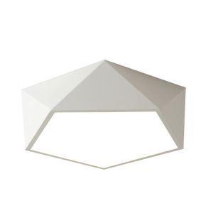 Led Deckenleuchte Modern Diamant Design in Macarons Farbe