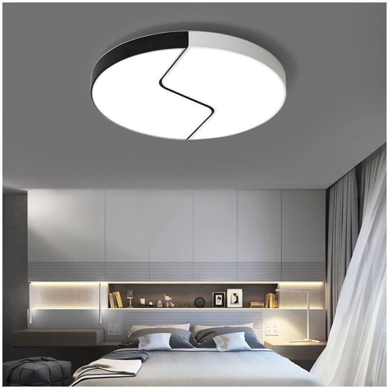 deckenlampe led modern in rund f r wohnzimmer
