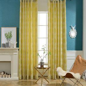 Moderner Vorhang mit Blumen Motiv für Wohnzimmer