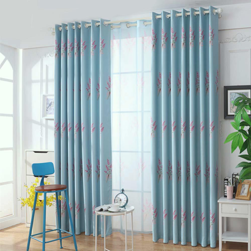 Moderner Vorhang Lavendel Muster für Schlafzimmer