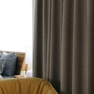 Modern Vorhang Unifarbe im Schlafzimmer