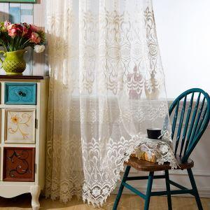 Europäische Gardine Jacquard Design für Wohnzimmer
