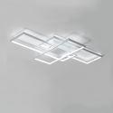Led Deckenleuchte Eckig Design für Wohnzimmer