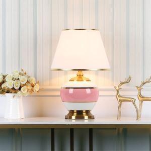Tischleuchte Modern aus Keramik Eisen 1 flammig für Lesezimmer