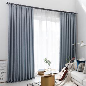 Eleganter Vorhang Uni aus Polyester für Schlafzimmer