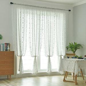 Transparente Gardine Spitze Design für Wohnzimmer 1er