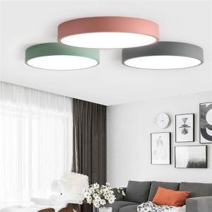 Deckenlampe Led Modern Rund in Macarons Farbe für Kinderzimmer