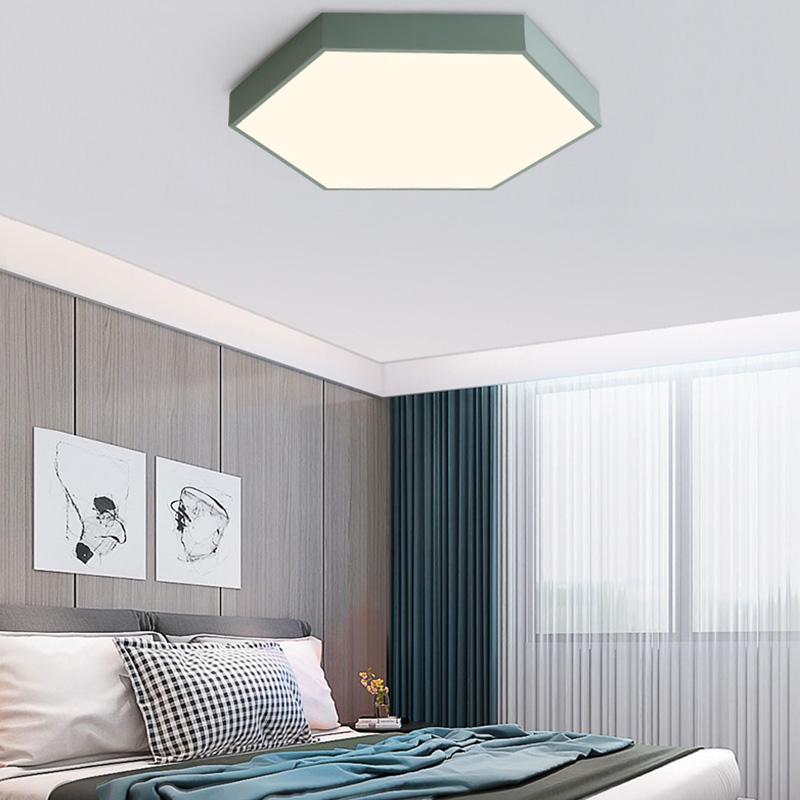 Luxus LED Decken Leuchte Arbeits Zimmer Glas Lampe Mosaik Design Chrom Strahler