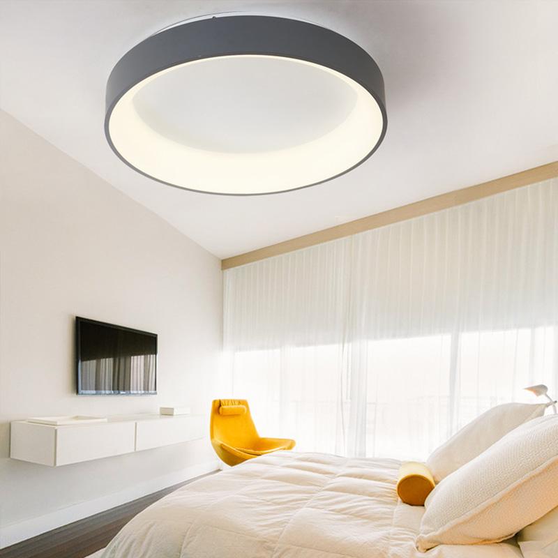 Led Deckenleuchte Modern in Rund oder Eckig für Wohnzimmer