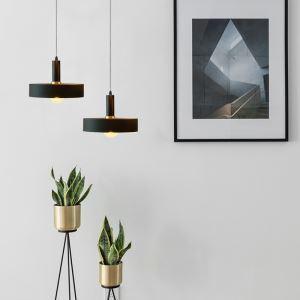 Pendelleuchte Kunstvoll aus Aluminium 1 flammig für Esszimmer
