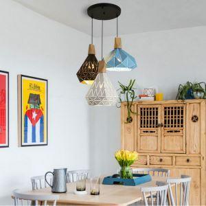 Moderne Pendelleuchte Macarons Serie 3 flammig für Esszimmer