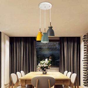 Pendelleuchte Modern Macarons Serie 3 flammig für Esszimmer