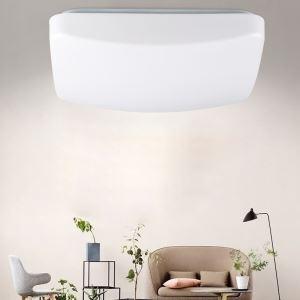 Led Sensor Deckenlampe Eckig aus Acryl 18W für Schlafzimmer