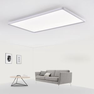 Led Deckenleuchte Modern Eckig in Weiß 42W für Schlafzimmer