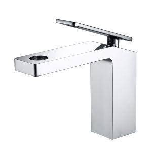 Waschtischarmatur Wasserhahn Einhebel Hohlem Design