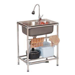 Küchenspüle Outdoor Edelstahl Gebürstet SY-f081