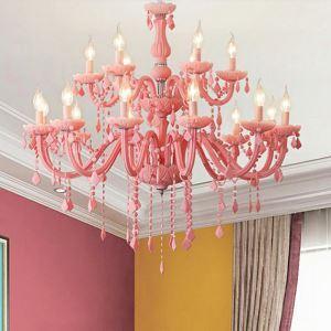 Kristall Kronleuchter Fantastisch Kerzen Design für Schlafzimmer