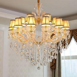 Kristall Kronleuchter Luxuriös Kerzen Design für Hotel