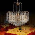Moderne Kristall Hängeleuchte rund Für Wohnzimmer