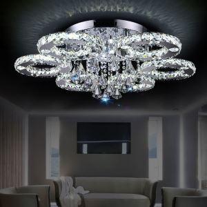 (EU Lager)Led Deckenleuchte Kristall Modern
