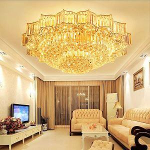 LED Kristall Deckenleuchte Blumen Design für Wohnzimmer