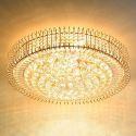LED Deckenleuchte Kristall Rund für Wohnzimmer Europäische Stil