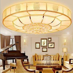 LED Deckenleuchte Kristall Rund für Wohnzimmer Minimalismus