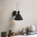 Moderne Wandleuchte aus Eisen 1 flammig für Wohnzimmer