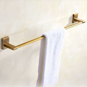 Europäische Handtuchstange Antik Messing für Badezimmer