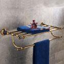 Handtuchhalter aus Messing Wandmontage für Badezimmer Elegant