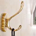 Europäische Hantuchhaken Gold für Badezimmer