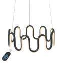 Led Hängeleuchte Modern Welle Design aus Alunimium für Esszimmer