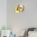 LED Spiegelleuchte aus Messing Wandmontage Modern