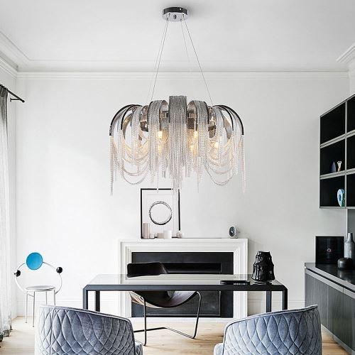 LED Pendelleuchte Quasten Design für Wohnzimmer