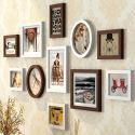 Wand Bilderrahmen aus Holz 11er - Set Minimalismus