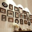 Wand Bilderrahmen Set aus Holz Minimalismus