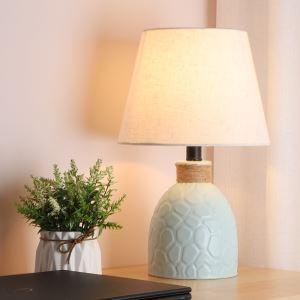 Keramik Tischleuchte Macaron Fabre für Schlafzimmer Minimalismus