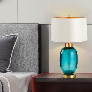 Feine Tischleuchte Modern aus Glasur für Wohnzimmer