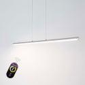 Led Pendelleuchte Säule Design aus Acryl für Wohnzimmer