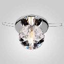 K9 Mini Kristall-Einbauleuchte, Kugelform